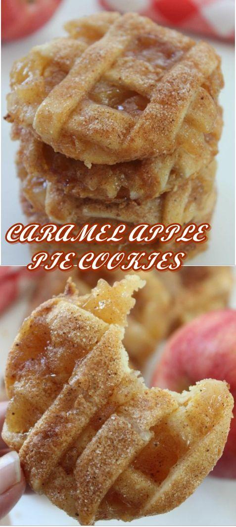 CARAMEL APPLE PIE COOKIES Der Herbst könnte früher richtig sein als wir alle …   – desserts