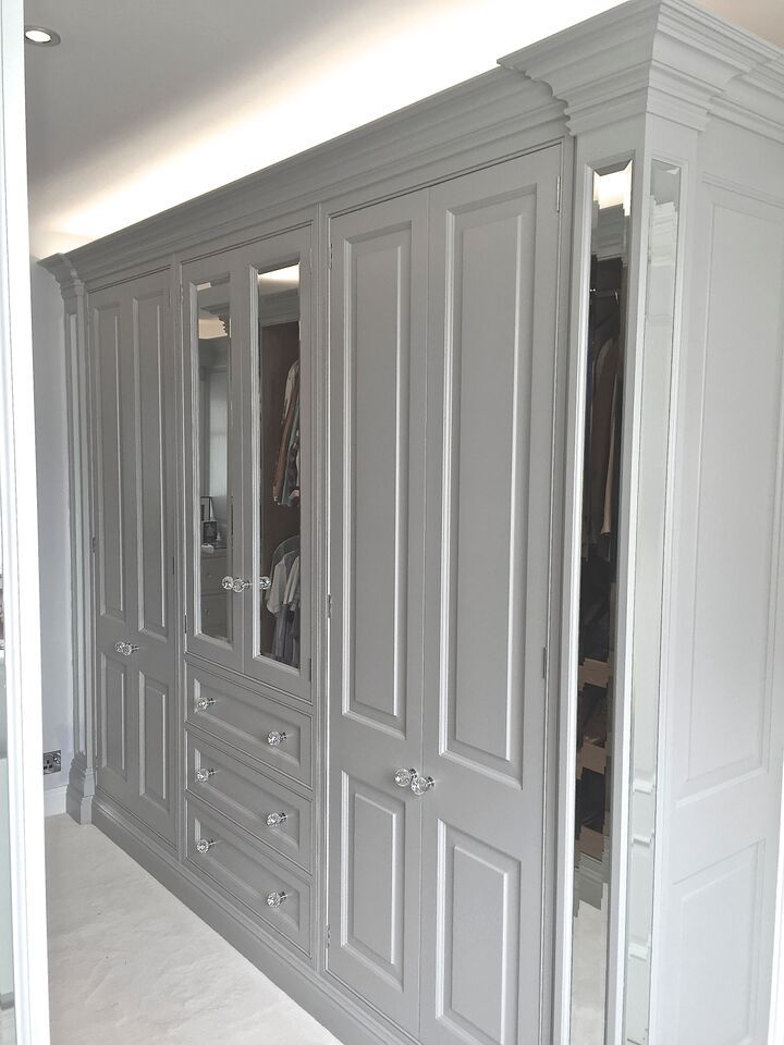 Sterlingdale S Bespoke Dressing Room With Built In
