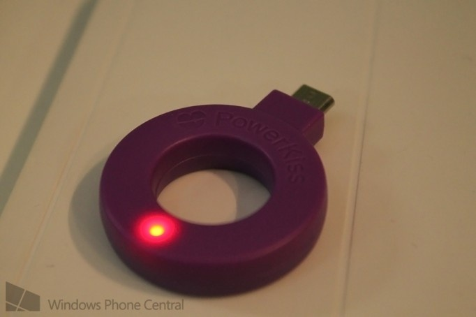 Qi powerkiss wireless charging micro usb adapter by @JayTBennett