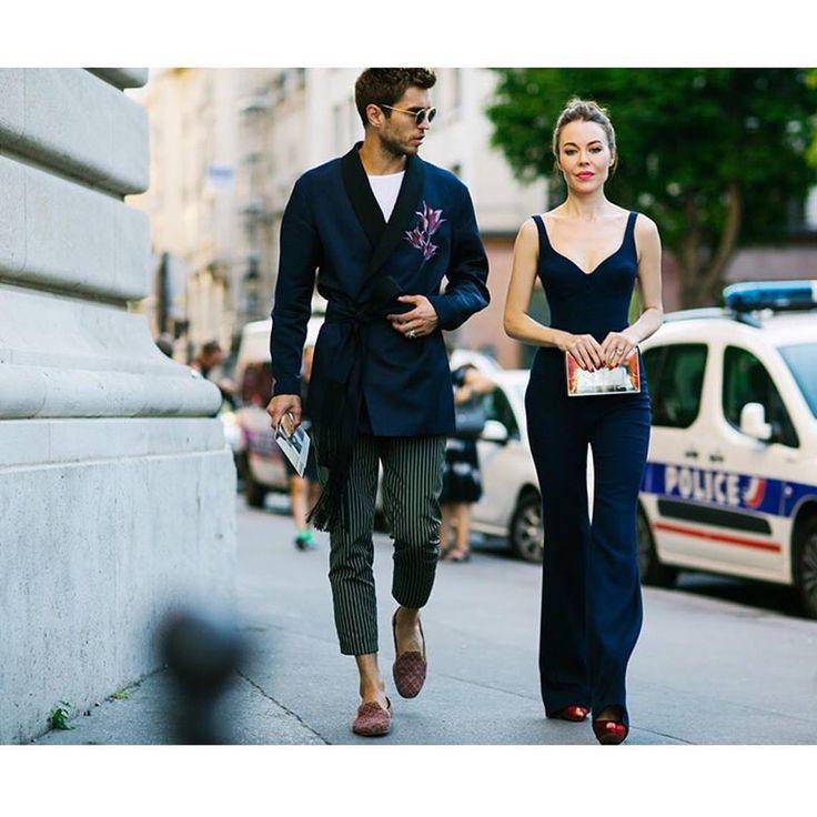 Ульяна и Фрол в Париже на Неделе Высокой моды. Фотография: Яна Давыдова