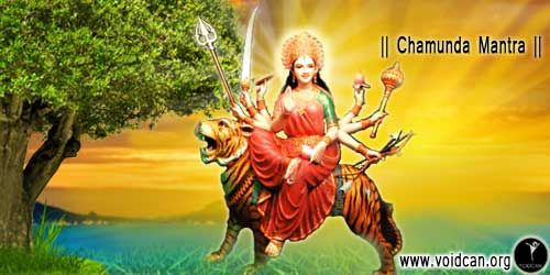 Find Chamunda Mantra in Hindi, English, Sanskrit , Gujrati, Tamil and Marathi, also know the meaning and you can free download pdf version or print it.