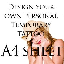 GIVE AWAY Express tattoos - design your own tattoo