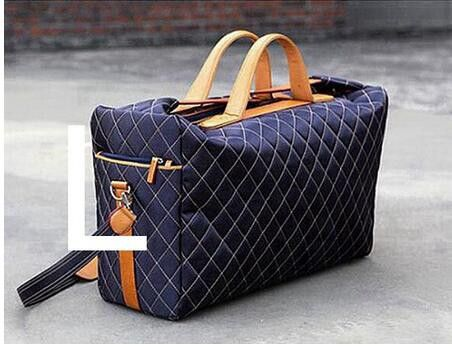 2016 Fashion Diamond Lattice Travel bag Men Duffle Bag Large Capacity Unisex Women Luggage Bags maletas de viaje sac de voyage