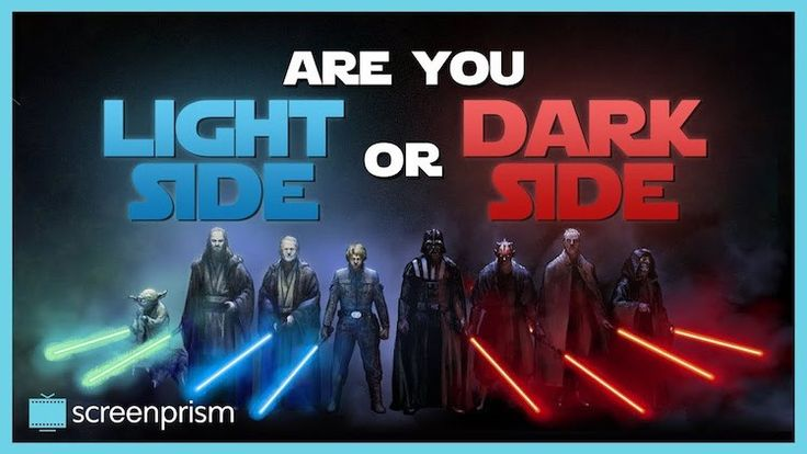 A Playful Quiz Using Clips From Star Wars to Determine If You Are on the Light Side or Dark Side