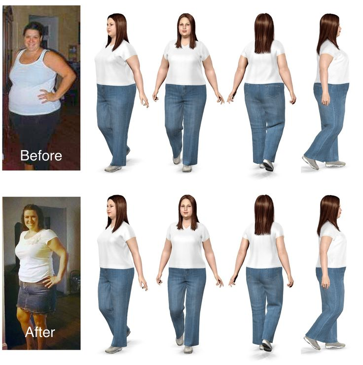 Congratulations Morgan on your weight loss!