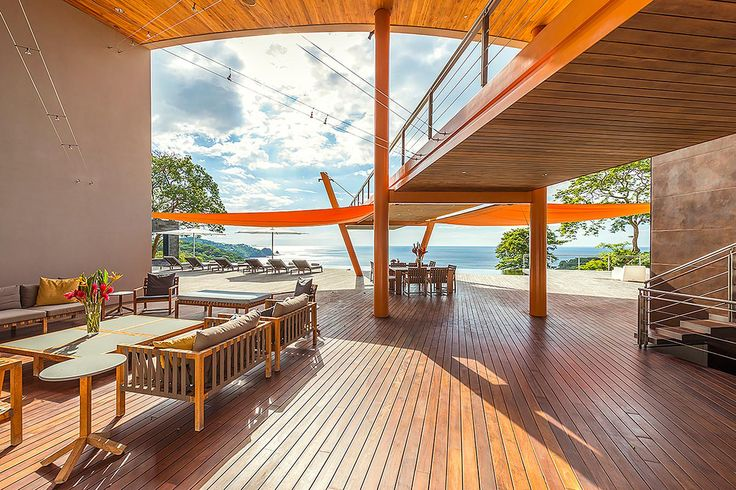 A private luxury resort sanctuary that jots out into the Pacific Ocean in Costa Rica's north-west province of Guanacaste.
