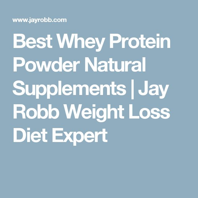 Best Whey Protein Powder Natural Supplements | Jay Robb Weight Loss Diet Expert