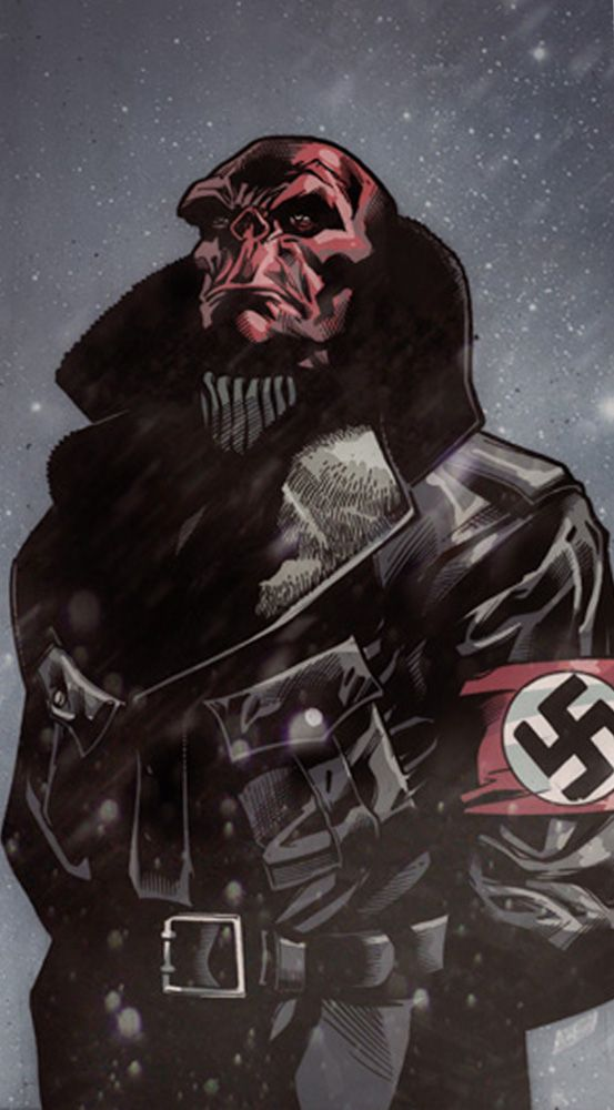 Red Skull by Scot Eaton