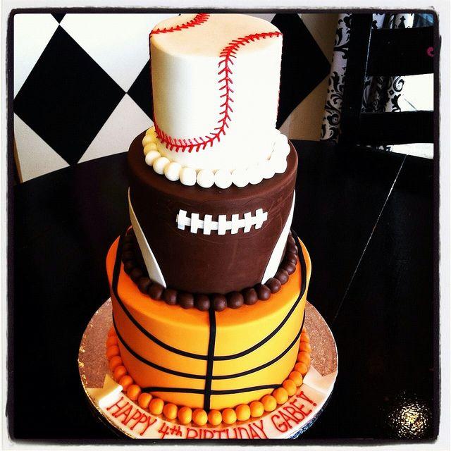 Sports cake by Designer Cakes By April, via Flickr