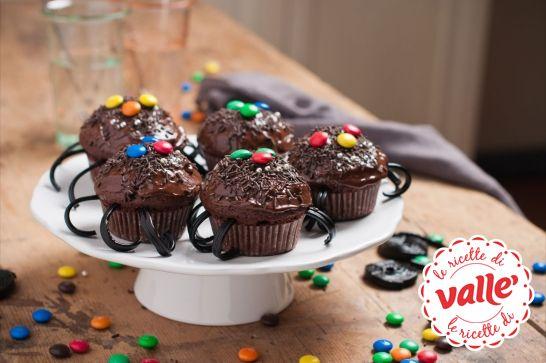 Ragnetti muffins #Halloween  Dolcetto o scherzetto?