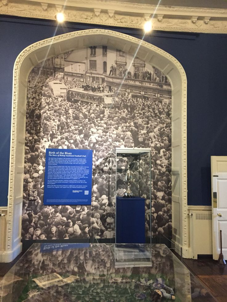 Bishop Auckland FC is famous for winning the FA Amateur Cup an astonishing 10 times. #BirthoftheBlues exhibition @aucklandcastle 22nd May - 28th September #Football #NorthernLeague #History #BishopAuckland #FAAmateurCup #Exhibition #AucklandCastle
