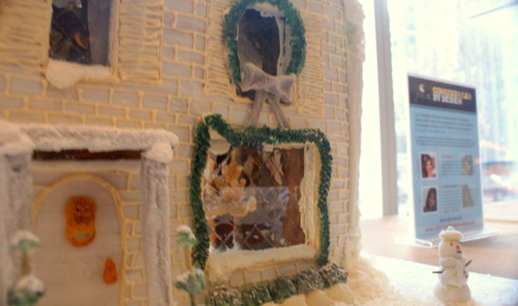 With the Children's Aid Foundation's Gingerbread by Design auction, you get to go home with a unique one-of-a-kind Gingerbread house and the funds raised goes towards helping vulnerable and neglected kids across Canada. Go to http://www.cafdn.org/gingerbread