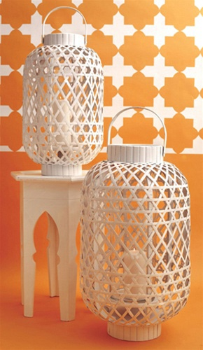 SoHa Living - Basket Weave Lantern, Large
