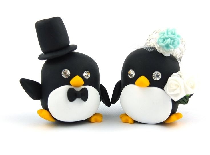 ber ideen zu pinguin hochzeit auf pinterest hochzeitstorte topper hochzeiten und. Black Bedroom Furniture Sets. Home Design Ideas