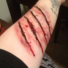 Werewolf Claw Scratch | Werewolf Scratch Tattoo Scratches by ...