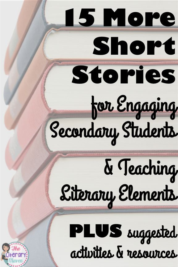 Looking for even more short stories to read with your middle school and high school students? There are so many options out there, many of which can be used to teach a variety of literary elements and lead into interesting discussions and activities. Read on for 15 recommendations from secondary English Language Arts teachers.