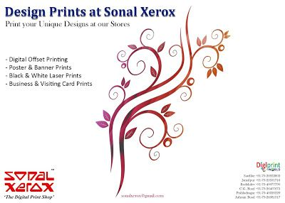 Sonal Xerox Digital Print Services: Design Prints at Sonal Xerox