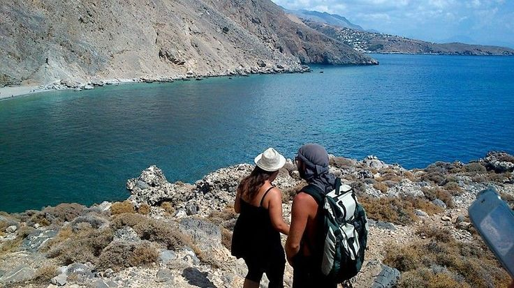 Hiking in Sfakia, South Crete. A must for hiking enthusiasts. http://www.handpickedgreece.com/a-week-of-discovery-and-hiking-at-the-region-of-sfakia-south-crete/#sthash.sT7737AP.qjtu