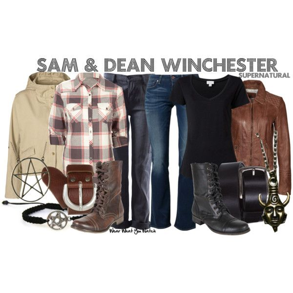 Supernatural Style of Sam and Dean Winchester