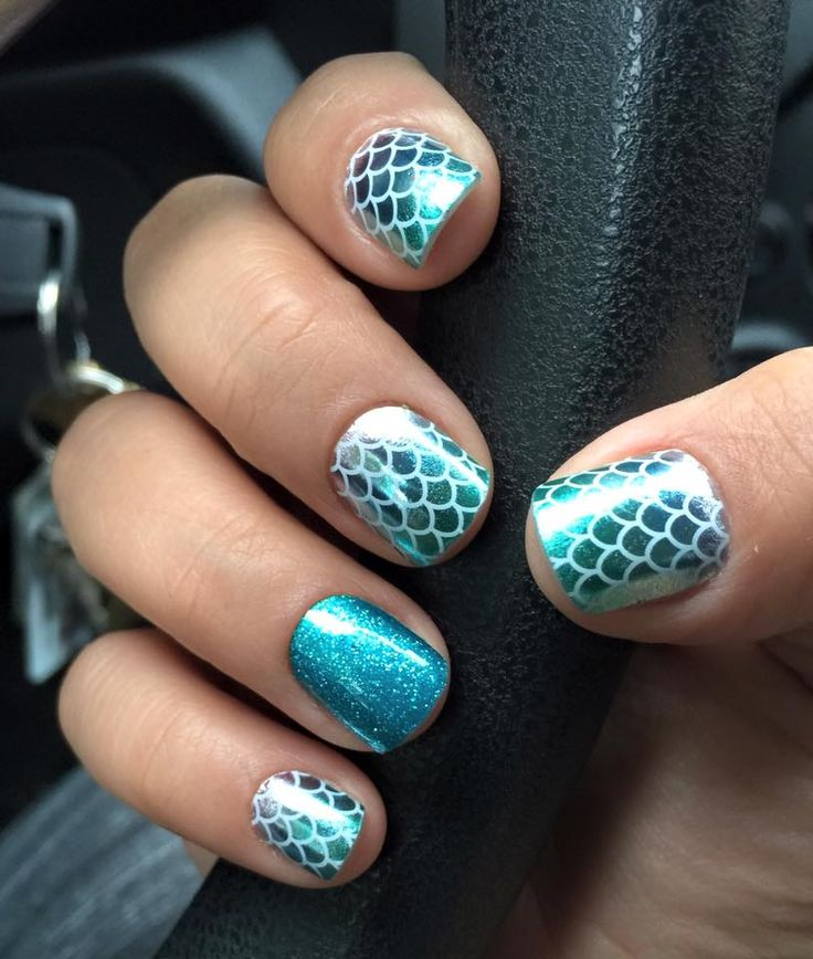 Jamberry Nail Wraps. Mermaid Tales & Jaded. Shop now: Megecon.JamberryNails.Net