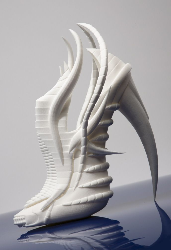 3D printed shoes nominated for the 2012 Mulberry Accessory Award ~ By Janina Alleyne, Footwear Designer — Warwickshire, United Kingdom