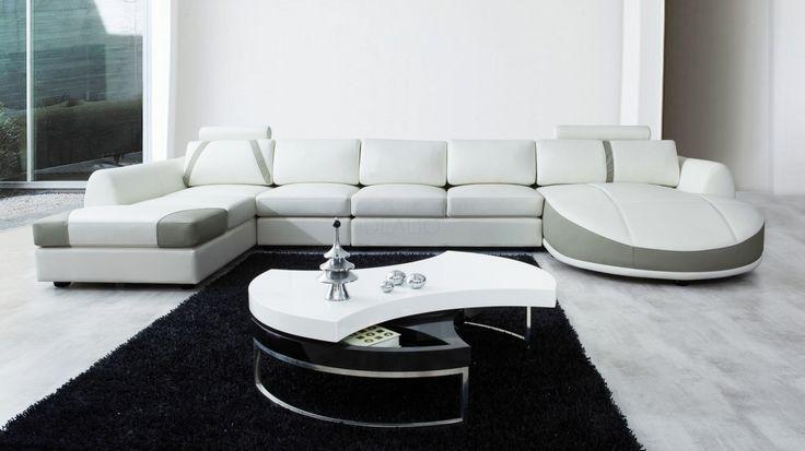 Messina Leather Chaise Lounge Option B - Lounge Life