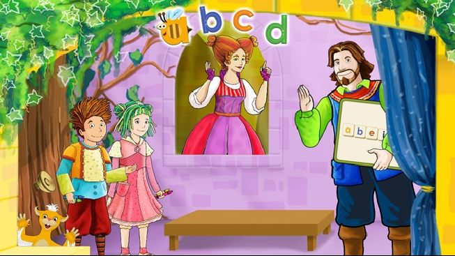 APPLICATION ENFANTS |  « 1,2,3...Géant! » propose aux tout-petits d'apprendre les lettres de l'alphabet en s'amusant avec le tableau magnifico-magnifique de Mosa.