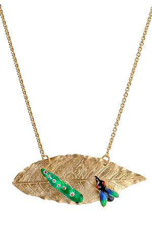 Микромир:Капсульная коллекция украшений Delfina Delettrez для Yoox.com — крошечные эмалевые фигурки среди серебра и ювелирной смолы
