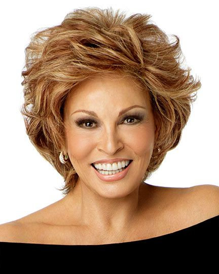 Applause by Raquel Welch is a short all over voluminous layered human hair style for a chic, contemporary look. Applause is made with human hair. With amazing off-the-face styling versatility as well as the flexibility to part hair on the left or right or in the center, it can be worn directly out of the box. Free Shipping in the US. Our Price: $669.80