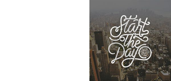 Hand Lettering Project 365 - Updated Daily on Behance