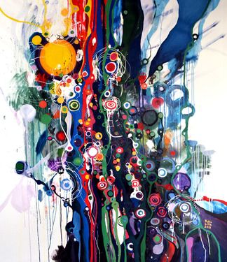"Saatchi Online Artist Lilla Kuizs; Painting, ""Into the Wild"""