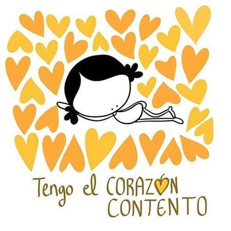 Tengo el corazón contento... y la sonrisa pegada. #EeeeegunonMundo!!