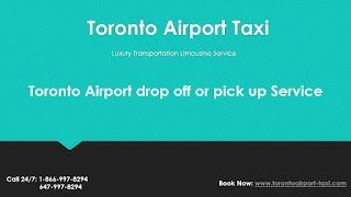 We can drop off or pick up from any airport in the GTA including Toronto airport, Buffalo airport, Pearosn airport,Hamilton airport and Billy Bishop Airport. Book Now: www.torontoairport-taxi.com