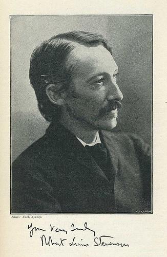 Robert Louis Stevenson #RLS has such a warm expression in this photograph