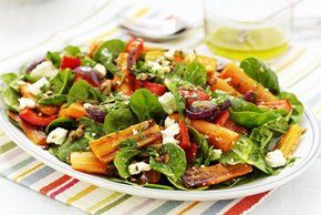 Roasted Beet, Carrot and Spinach Salad Image 2