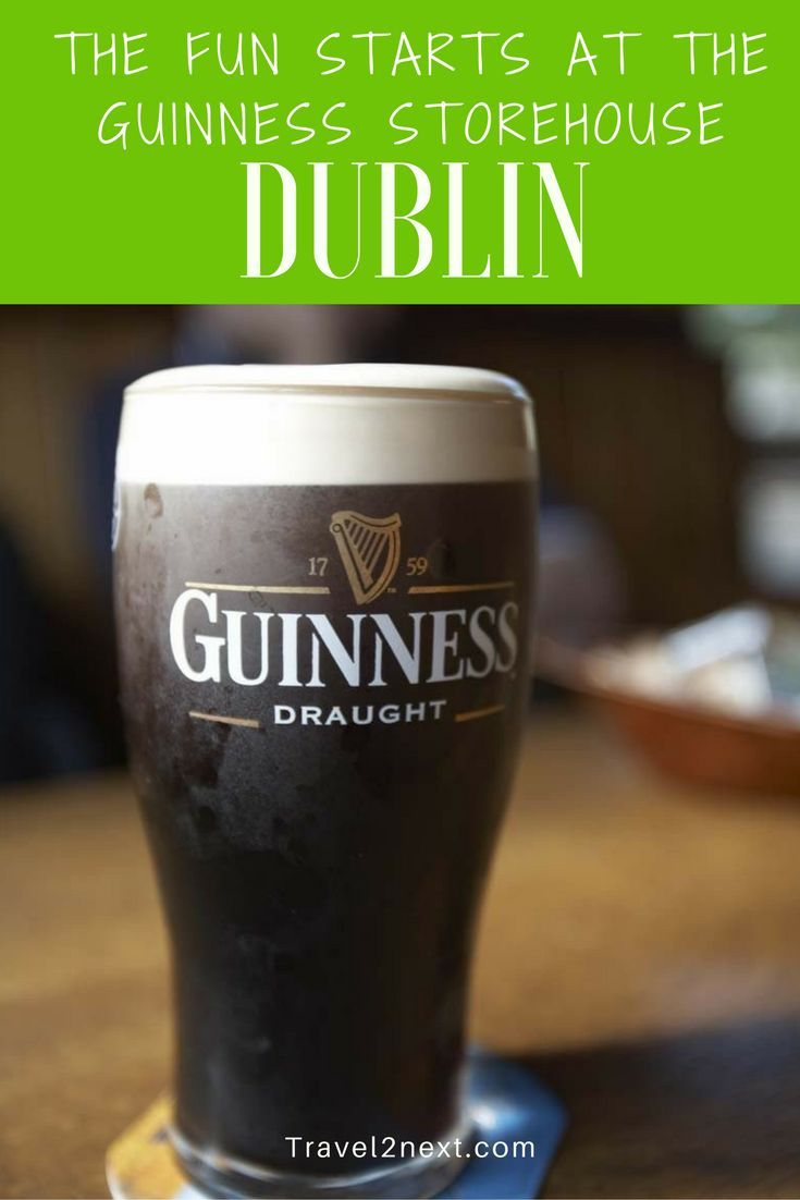 The fun starts at the Guinness Storehouse in Dublin. You can find an Irish pub in just about any city around the world. But there's nothing like cosying up in a pub in Ireland.