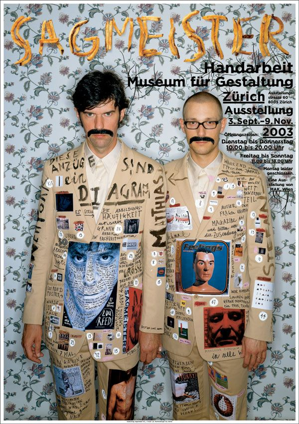 Stefan Sagmeister – Sagmeister Inc (New York, USA)
