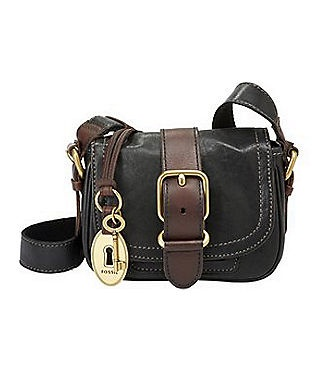 Fossil Emory Small Flap Umhängetasche