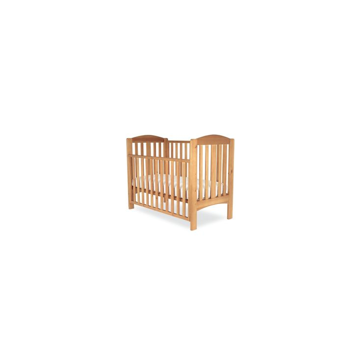 Good value traditional style wooden cot with a drop-side, though the drop-side is a bit noisy to use
