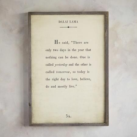Words of wisdom print by the dalai lama | Inspirational ...