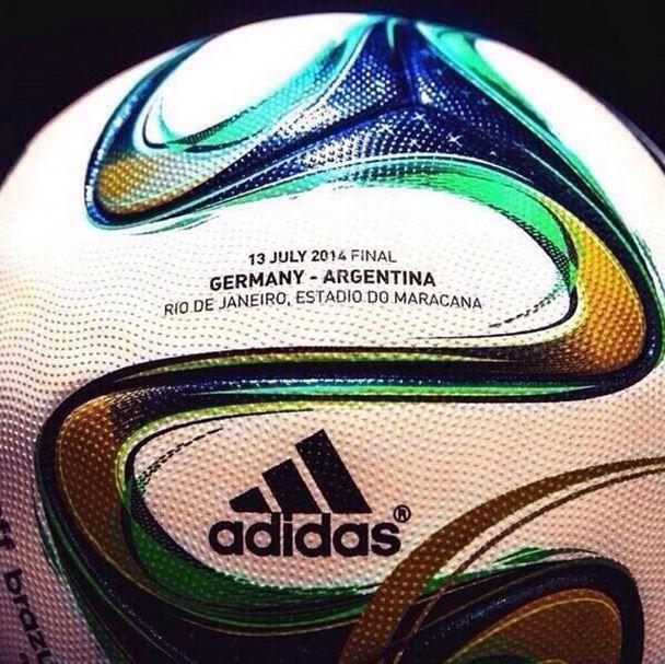 El Balón de la final Alemania - Argentina ⚽ #worldcup #brasil2014
