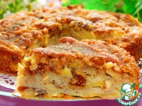 Сицилийский яблочный торт - кулинарный рецепт