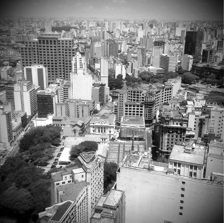 São Paulo View - Altino Arantes building