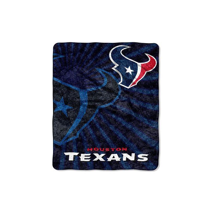 "NFL Houston Texans Sherpa Throw Blanket - 50""x60"""