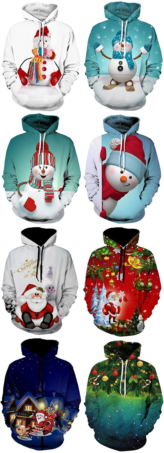 50% OFF Christmas Men Hoodies,Free Shipping Worldwide.