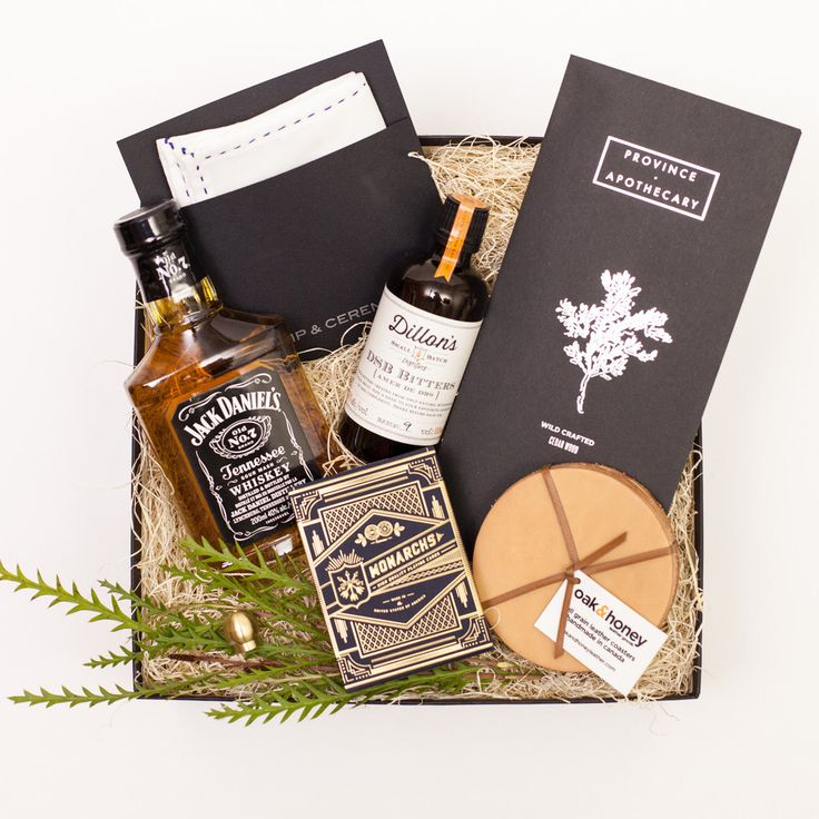 THE GENT – by Present Day  Groom's Gift Box