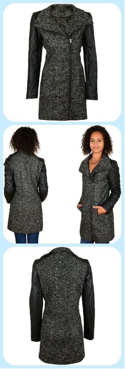 VILA Clothes http://www.hoodboyz.co.uk/product/p131183_vila-kendra-salt-coat-coat-black.html