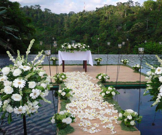 Ubud Hanging Gardens, Ubud, Bali, Indonesia.