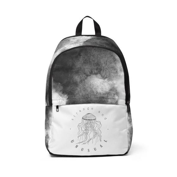 5751d420e7ec Marble Effect Jellyfish Rucksack - Strange And Unusual - Grey ...