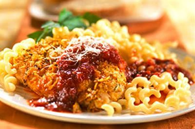 Diabetic recipe for Chicken Parmesan